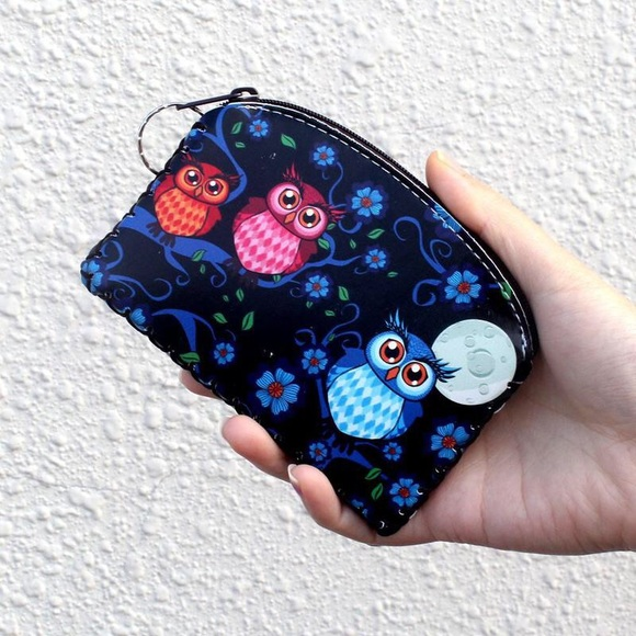 Handbags - Owl wallet/coin purse